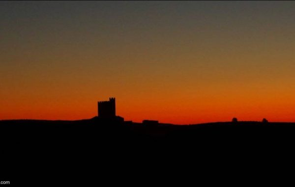 Sonnenaufgang auf der Via de la Plata