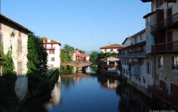 Brücke über die Nive in St. Jean Pied de Port