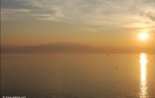 Sonnenaufgang in der Bucht von Finisterre